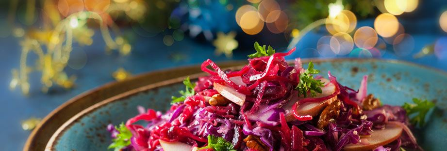 Servera ett vegetariskt julbord i år